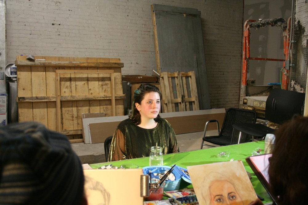 Samantha Shanker at Forest City Brewery 1-26-18.JPG