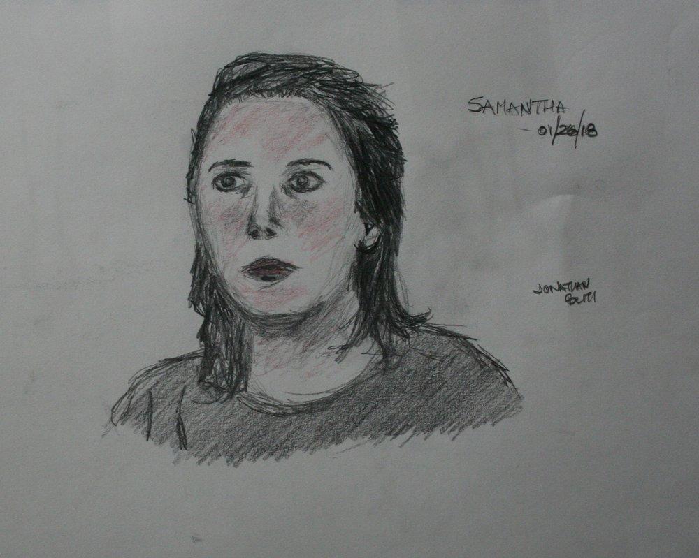 Jonathan Politi did this sketch.