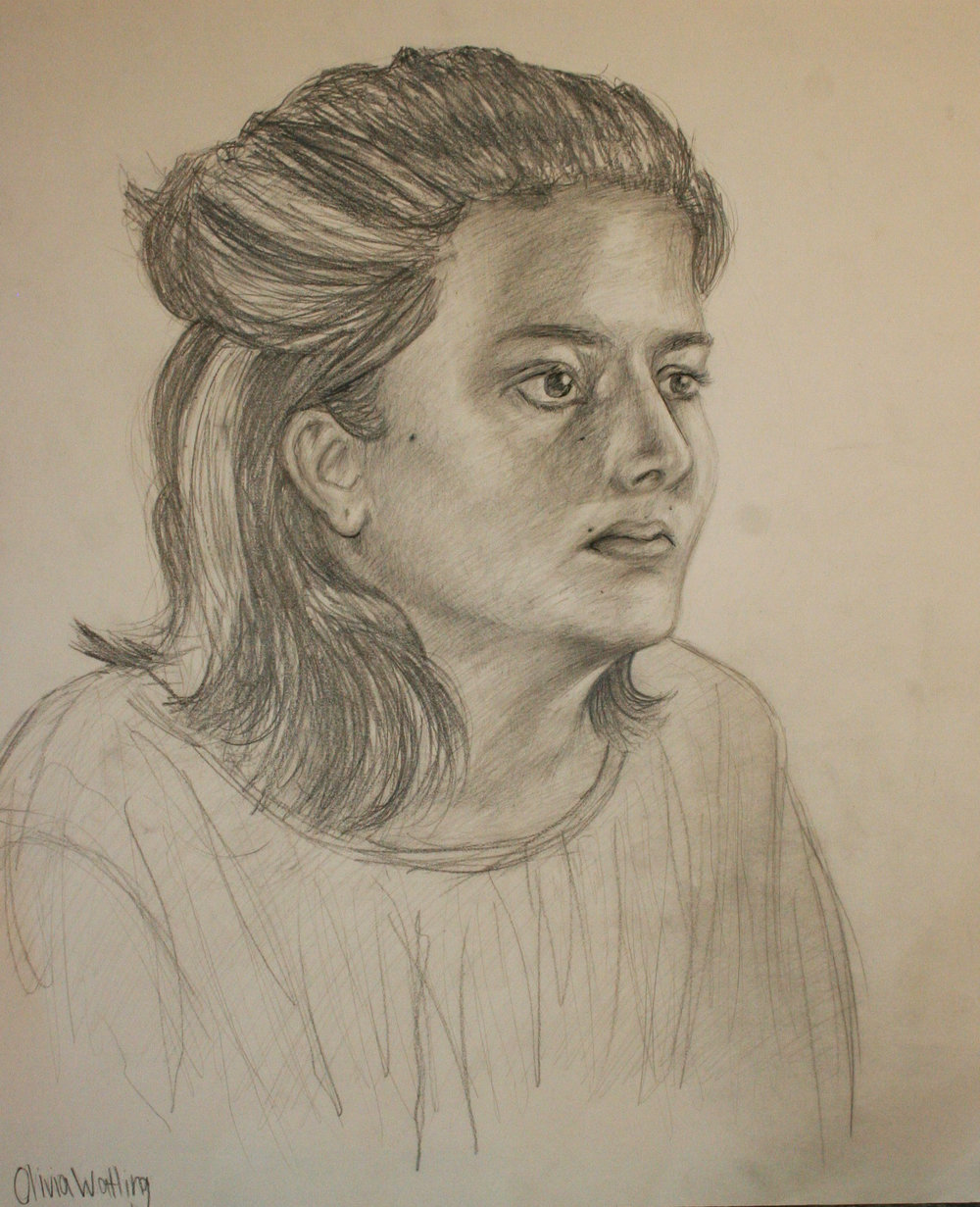 Olivia Watling did this drawing.