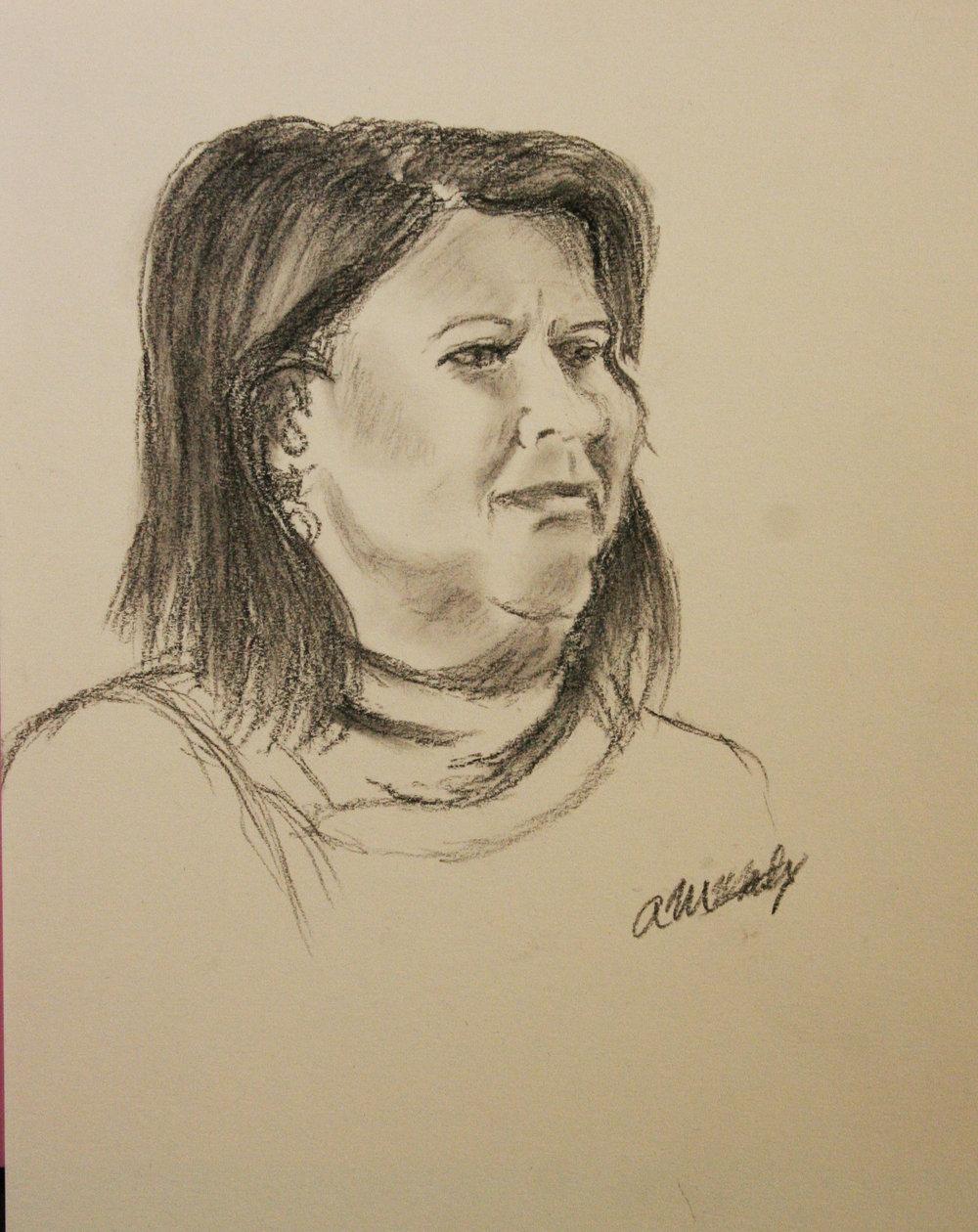 Ana Maria Martinez did this drawing.