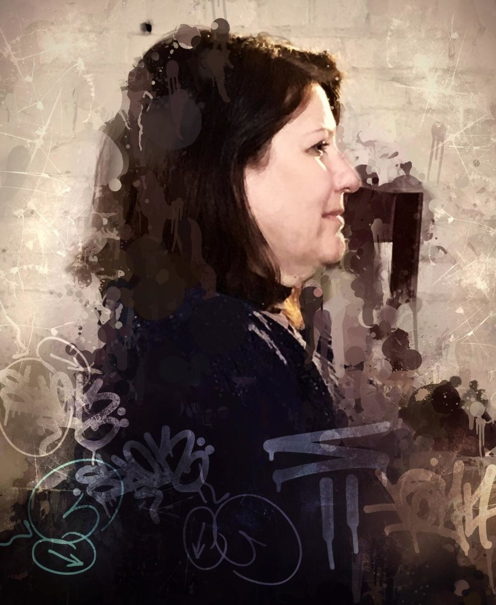 Nancy Dinger Aikins did this photo manipulation.