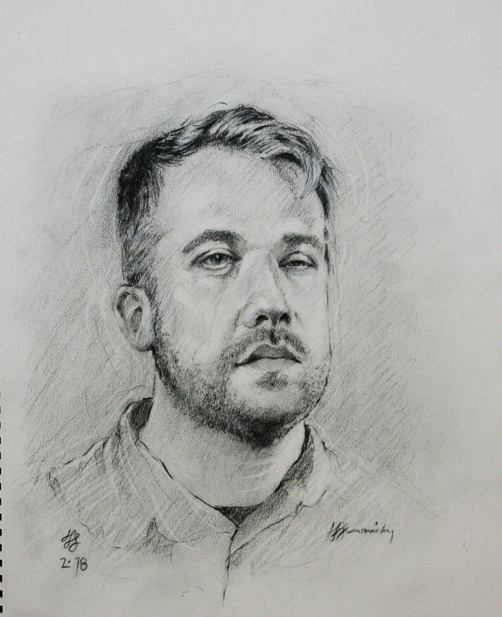 John Scavnicky did this drawing.