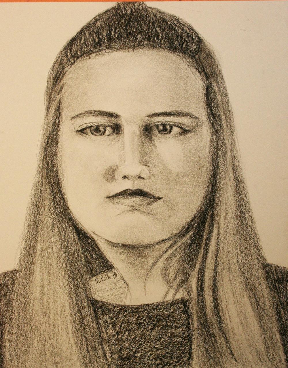 Maria Polk did this drawing.
