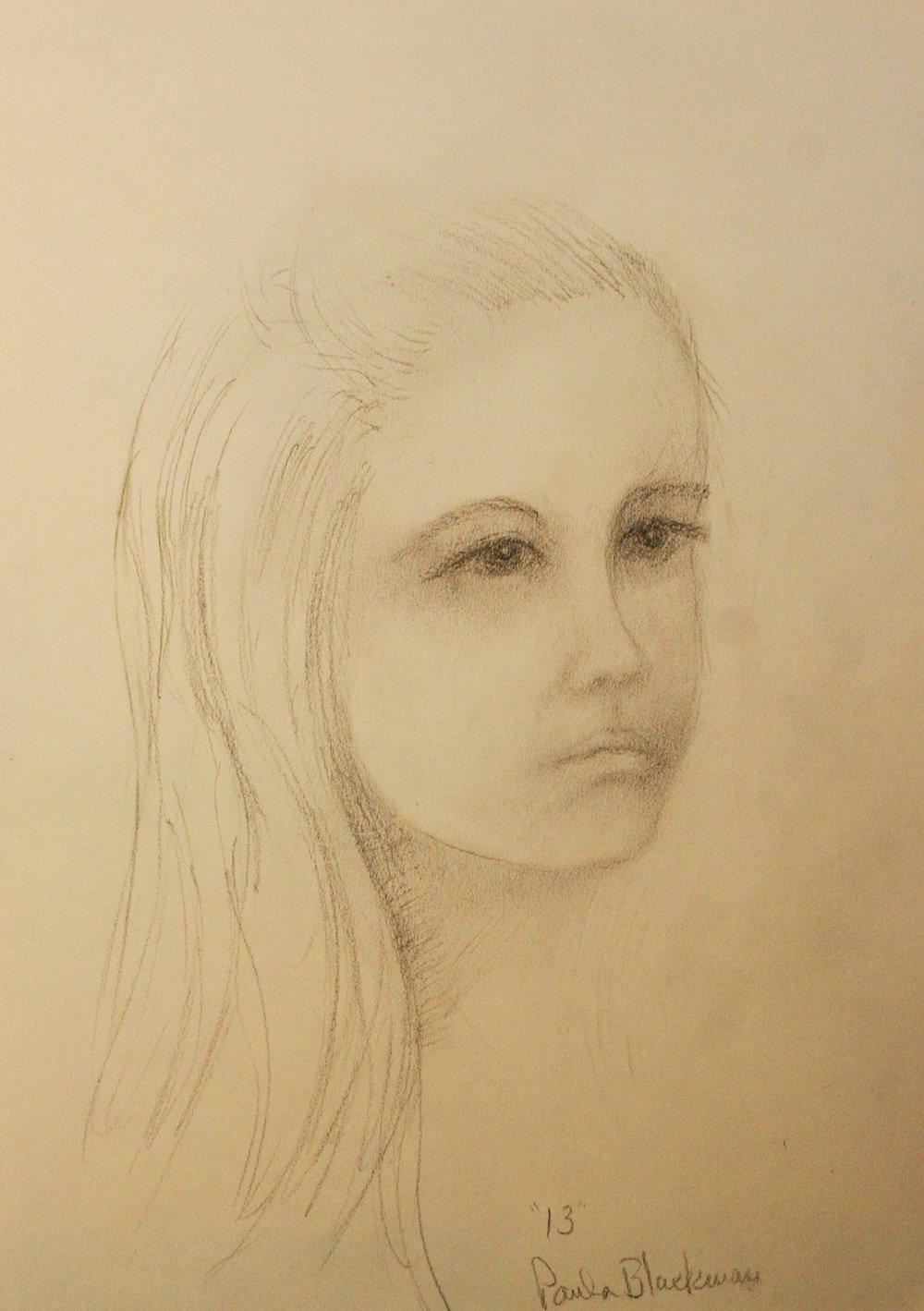 Paula Blackman did this drawing.