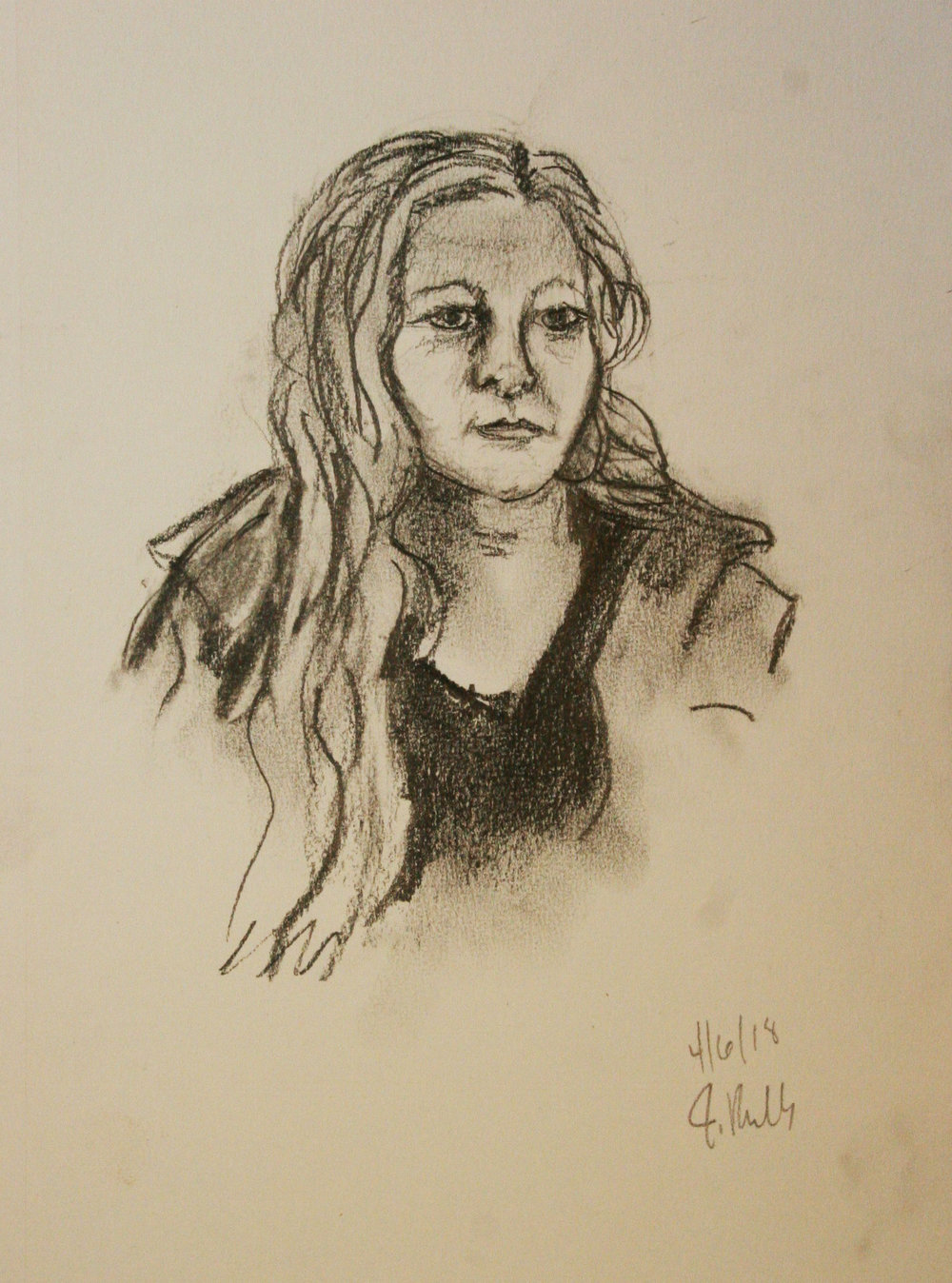 Jean Reilly did this drawing.