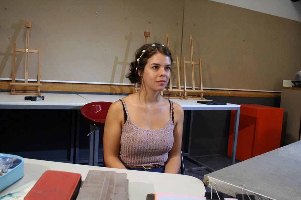 Emily Sanker at Artful Cleveland 6-22-18.JPG