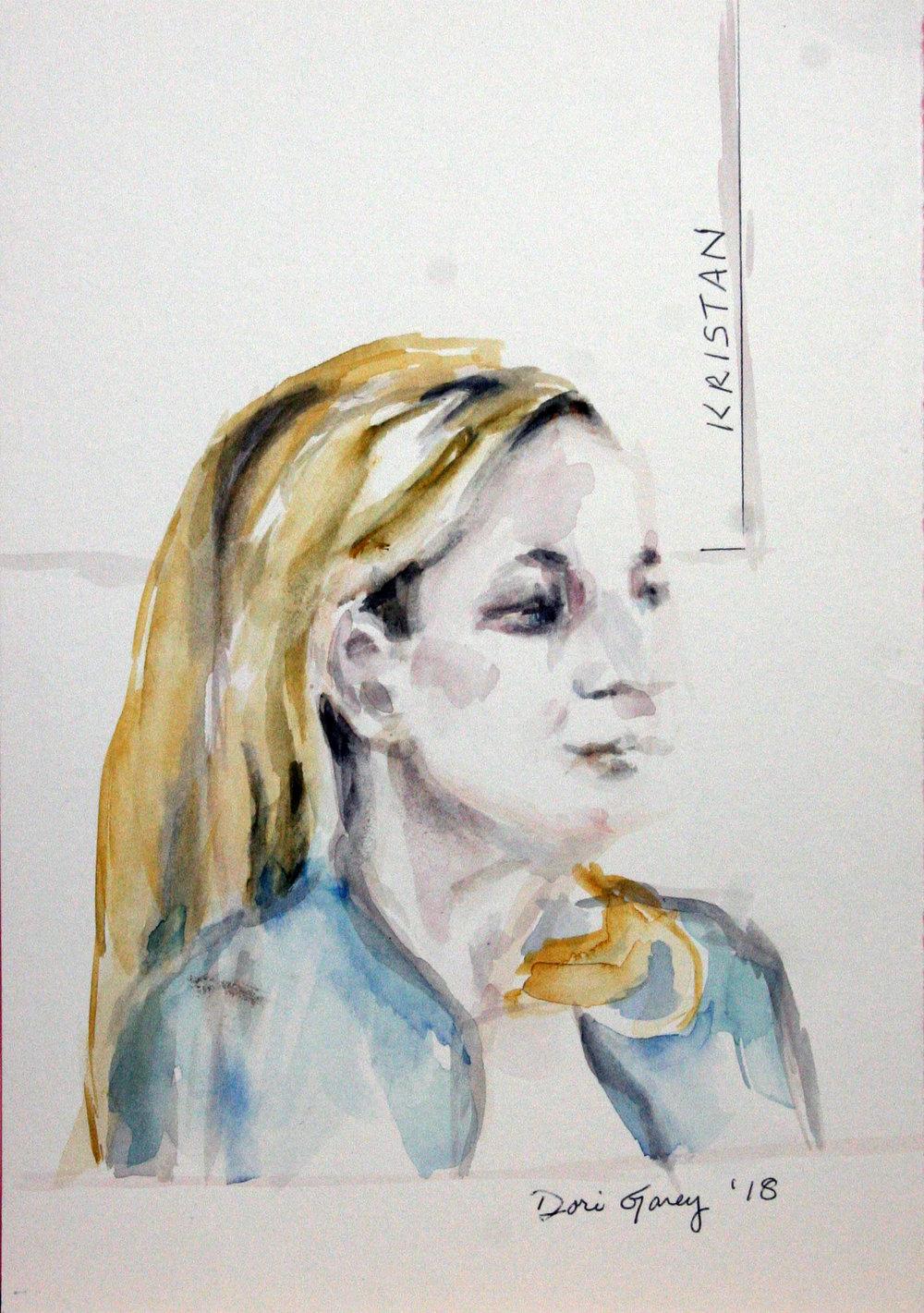 Dori Garey did this watercolor.