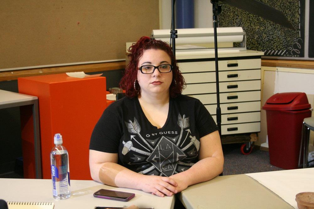 Taylor Elaine Forish at Artful Cleveland 11-02-18.JPG