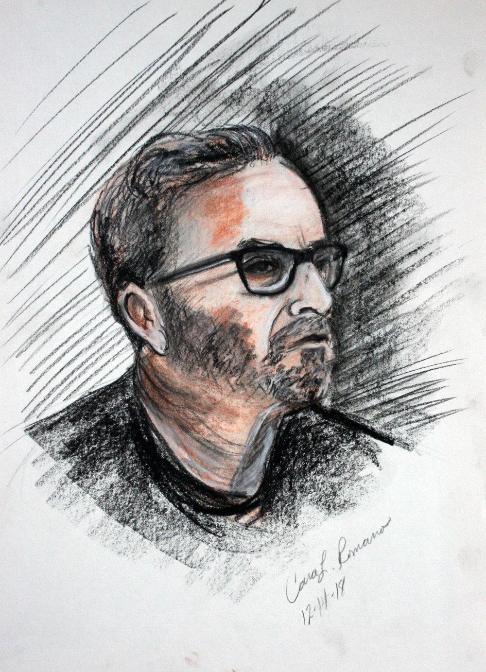 Cara Romano did this drawing.