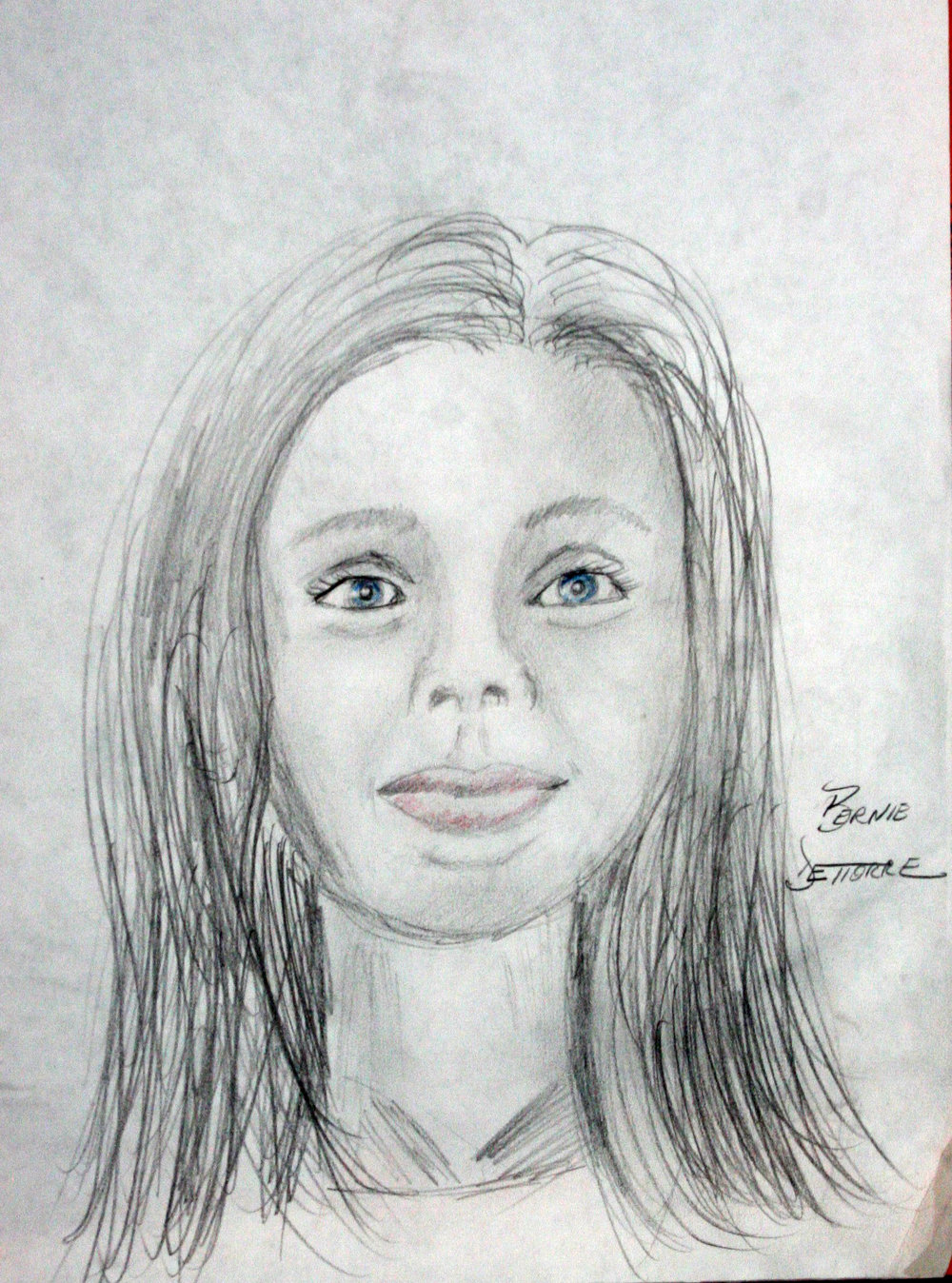 Bernie D'ettorre did this drawing of Tillie.