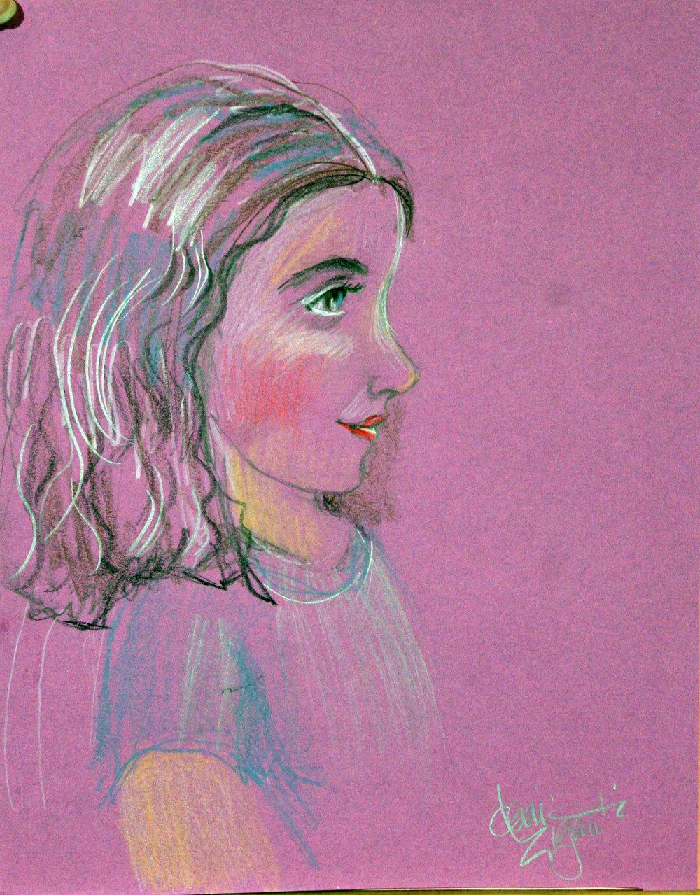 Deni Ziganti did this drawing of Winnie.