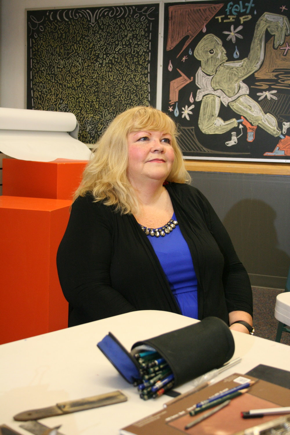 Marge Williams at Artful Cleveland 1-25-19.JPG