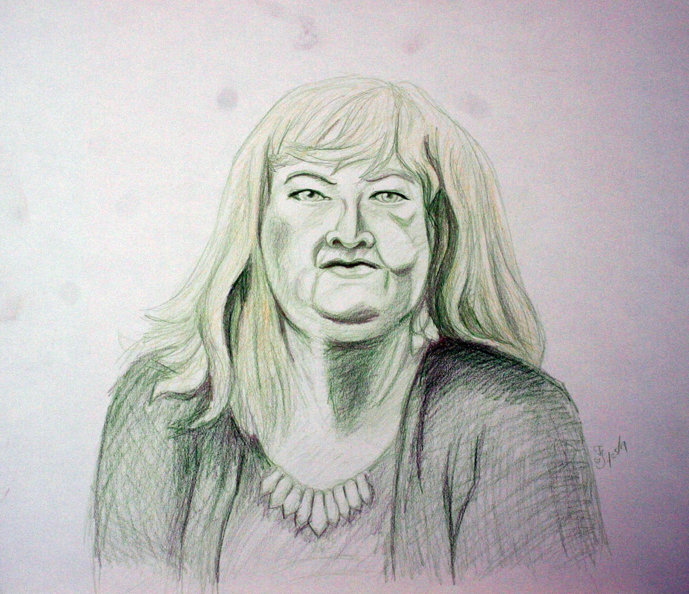 Cecelia Ivy Price did this drawing.