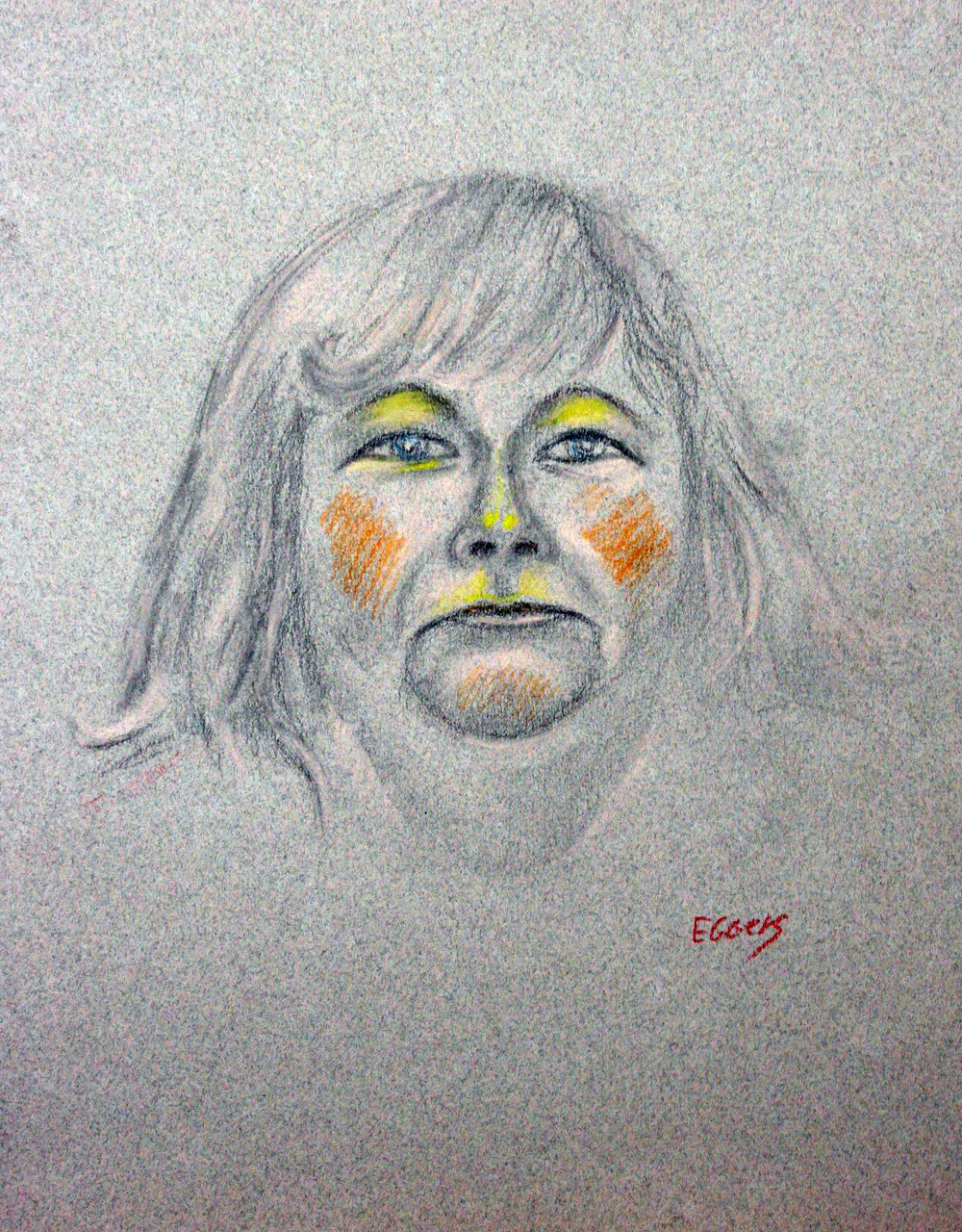 Bob Eggers did this drawing.