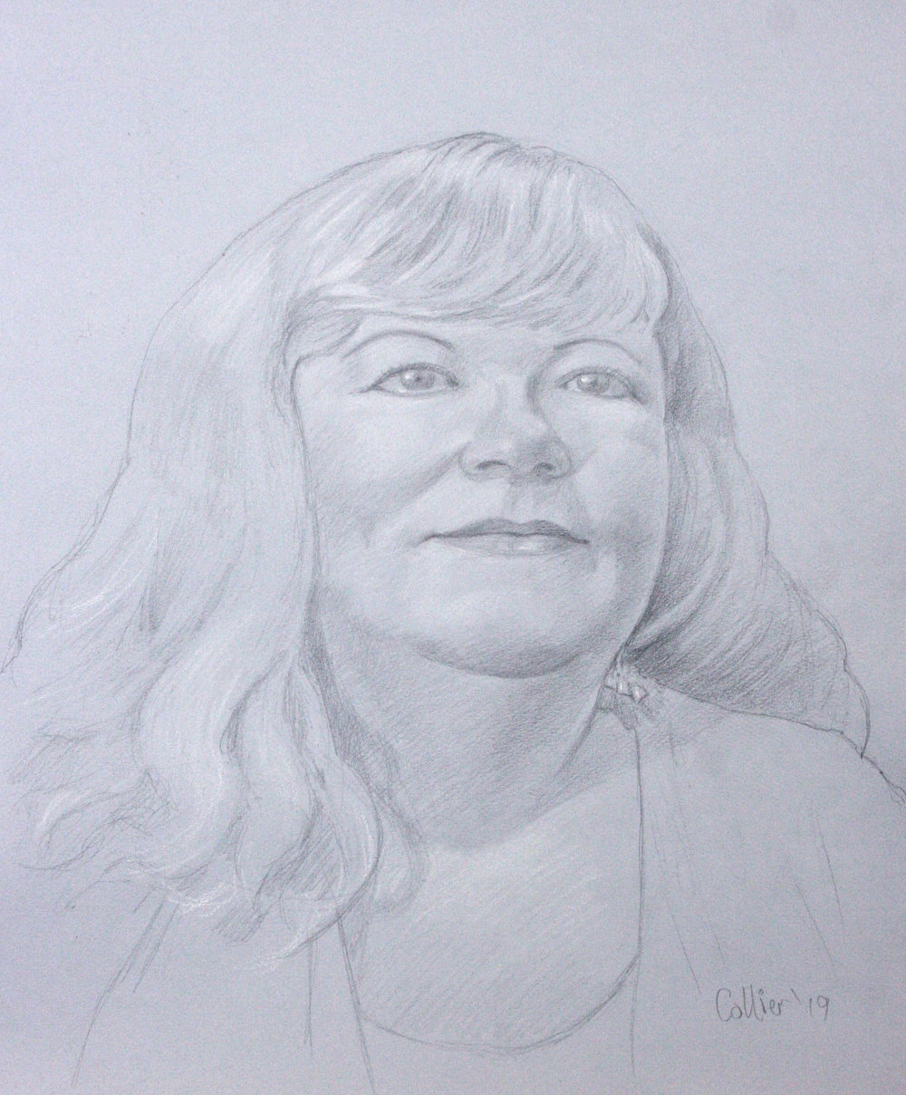 Howard Collier did this drawing.