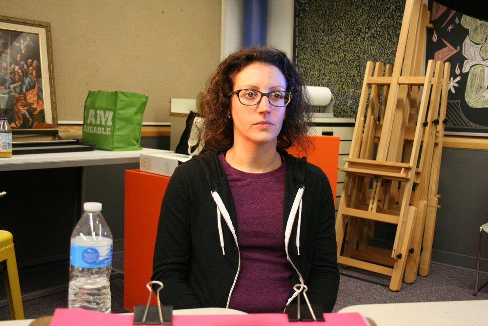 Laura Eberhard at Artful Cleveland 1-2-19.JPG