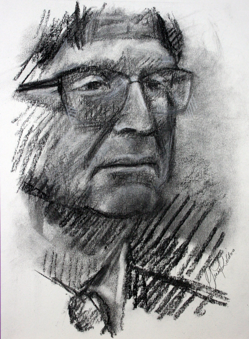 Grace Kildoo McConnell did this conte drawing.
