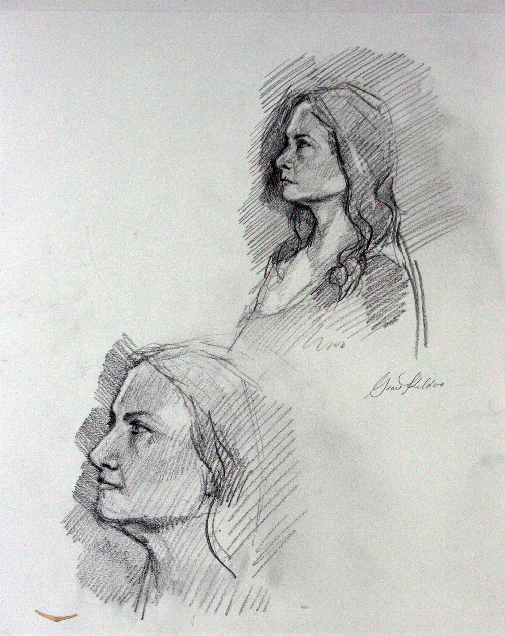 Grace Kildoo McConnell did this drawing.