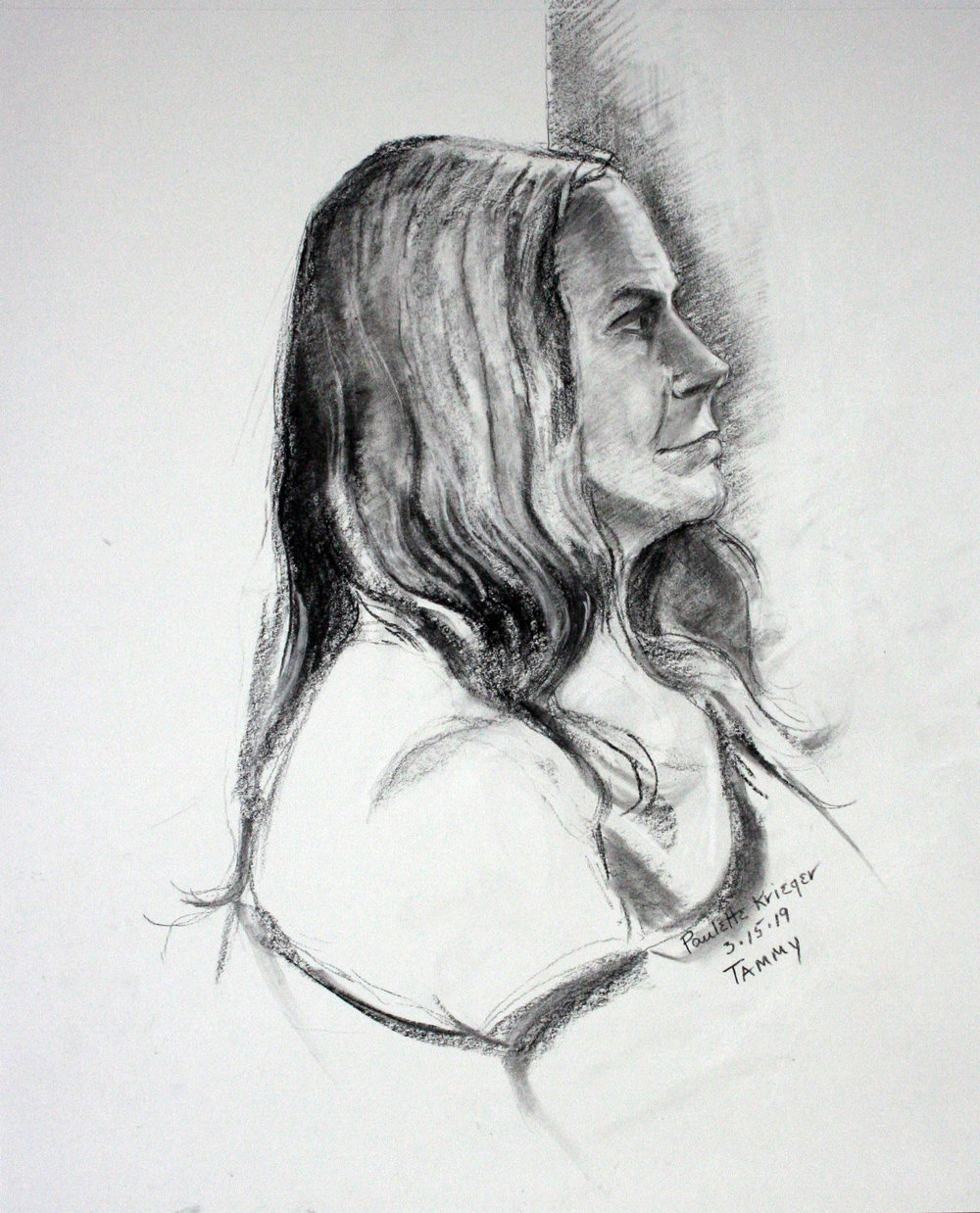 Paulette Krieger did this drawing.