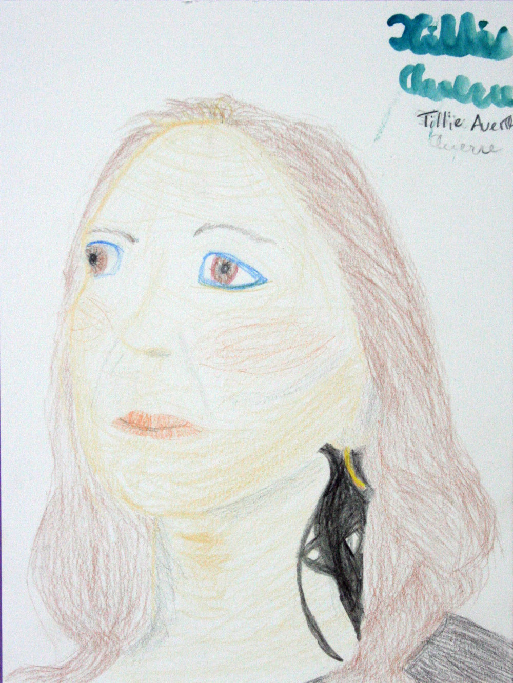 Tillie Averre did this drawing.