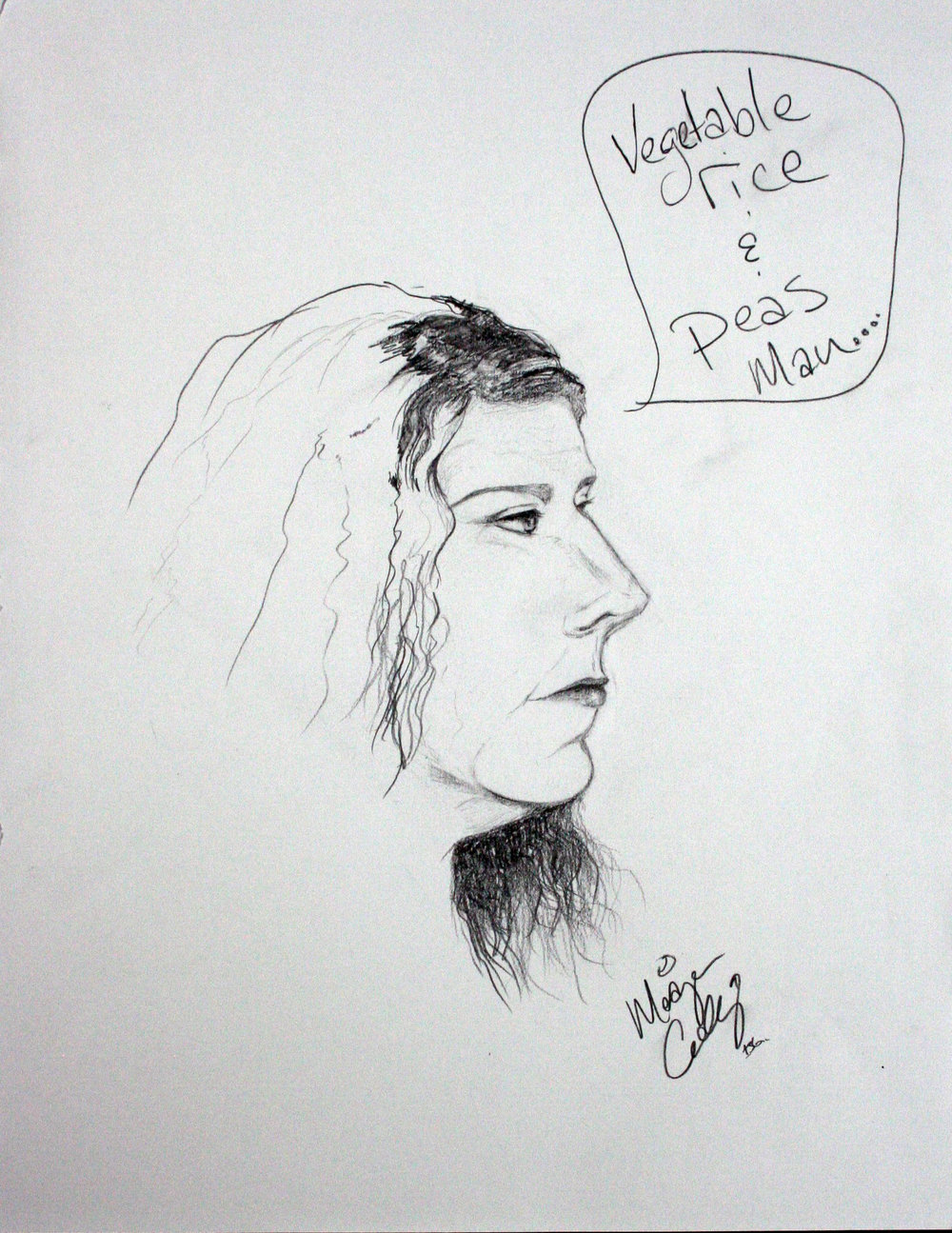 Meagen Cockley did this drawing.