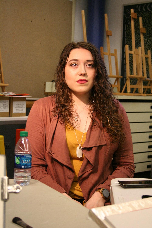 Corinna Emma Bartholomew at Artful 4-12-19.JPG