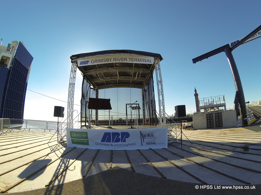 Stage on Pier