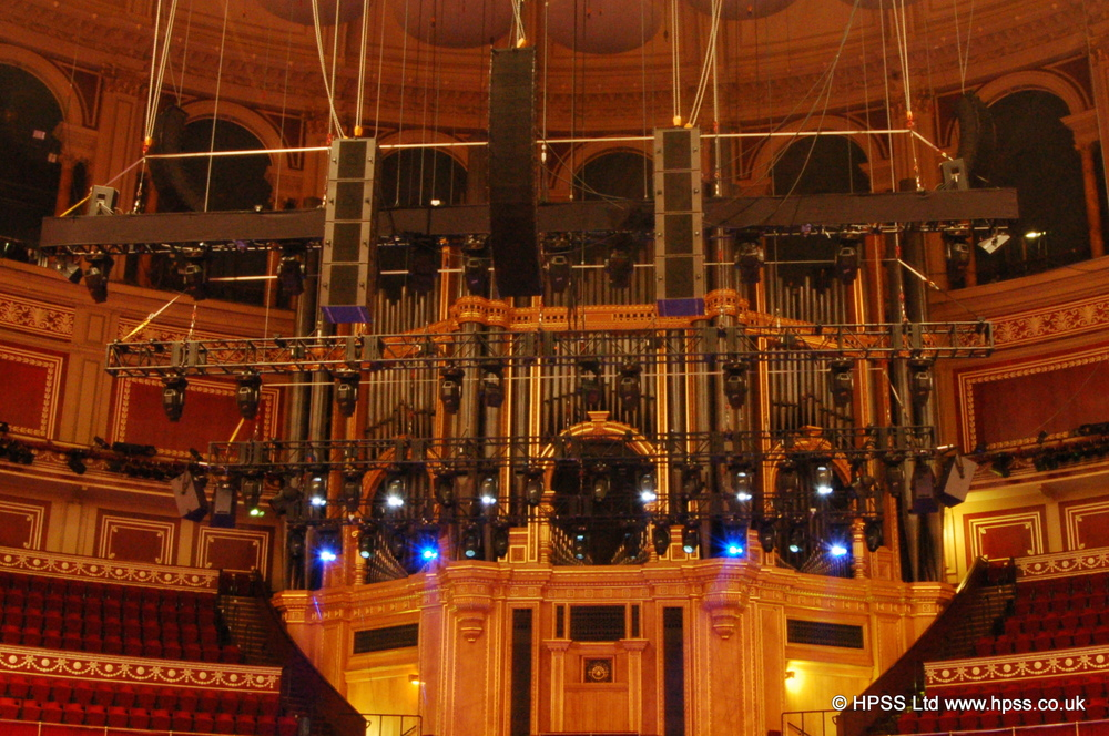 HPSS and L Acoustics in the Royal Albert Hall