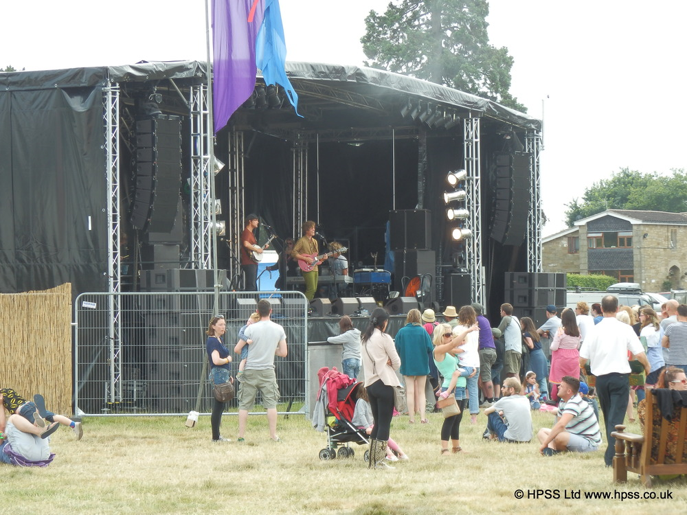 Festival package hire