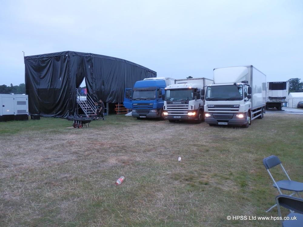 Festival trucking