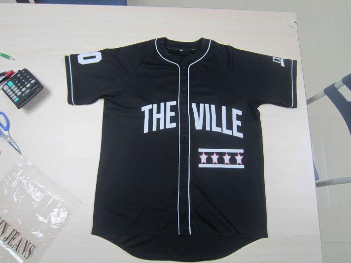 The Ville Baseball Jersey