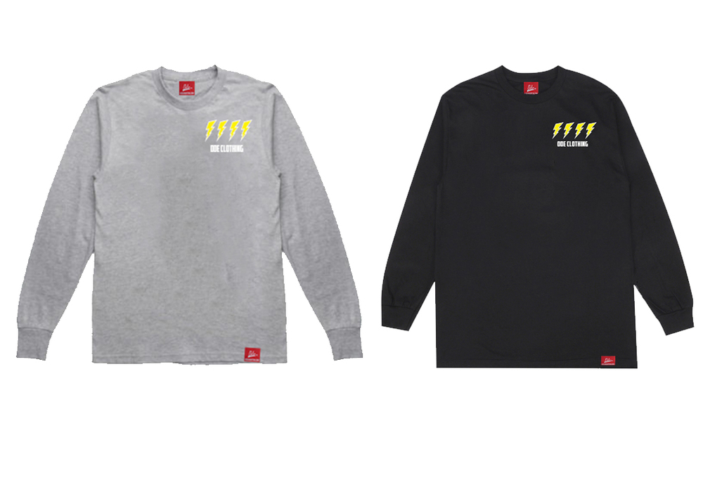 lighting bolt long sleeve