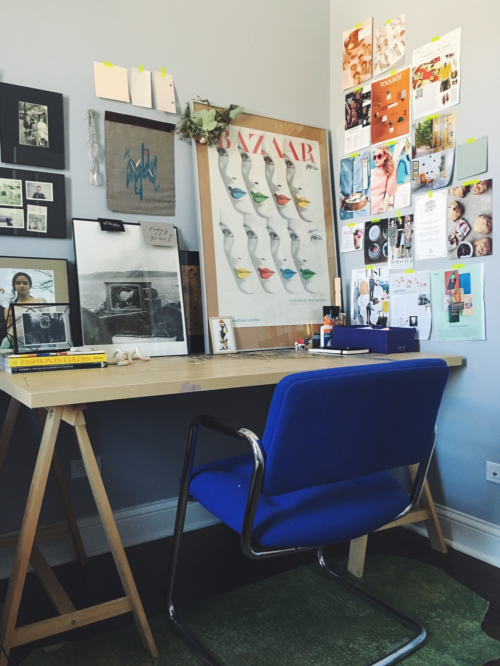 Take a photo of your workspace