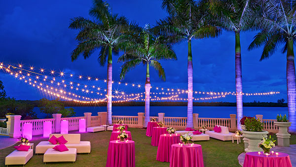 Offering 15,000 square feet of versatile meetings and events space, the Event Lawn at The Westin Cape Coral Resort at Marina Village has the most impressive views and provides meeting a wow-factor to Instagram shots. As the property overlooks three bodies of water, The Gulf of Mexico, the Caloosahatchee River, and San Carlos Bay, the event lawn is used for outdoor receptions and gatherings to watch the beautiful Southwest Florida sunset.