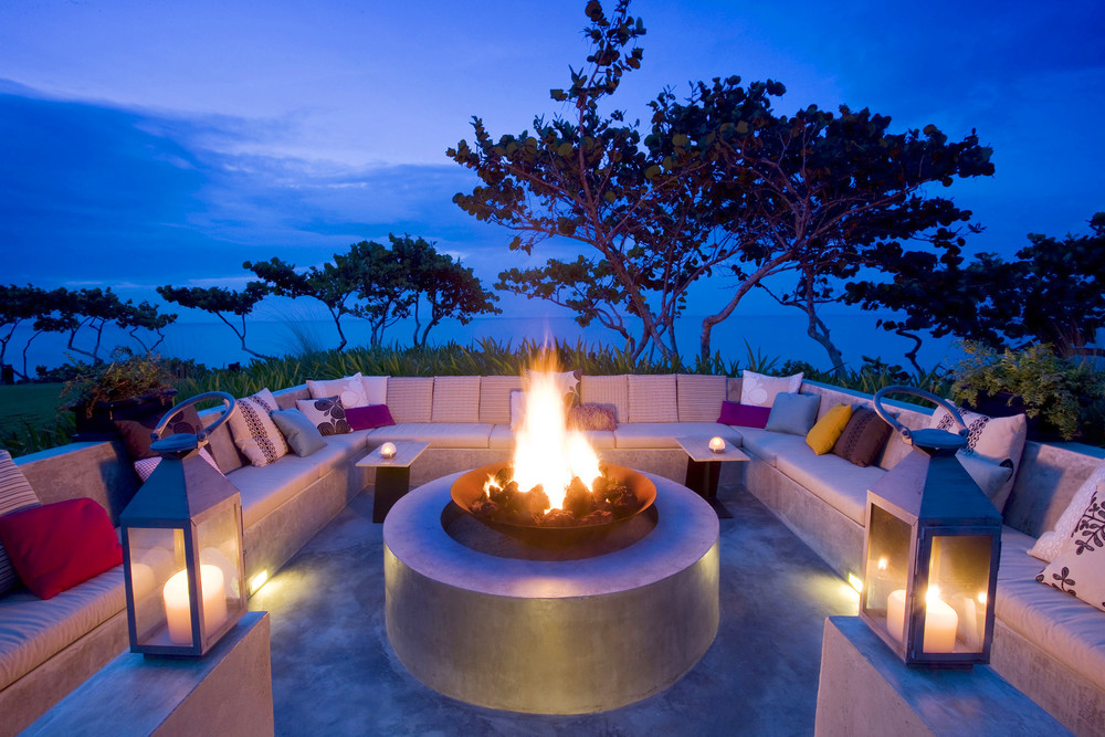 W Retreat and Spa, Vieques Island - Activities and Grounds - Fire Pit at Dusk.jpg