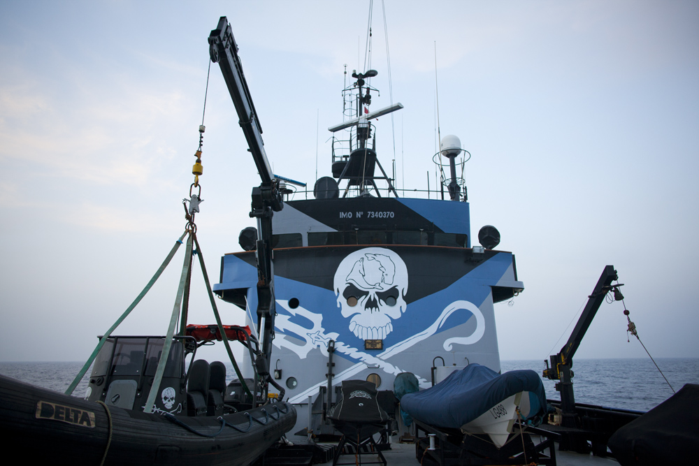Sea Shepherd Conservation Society are a marine conservation group founded in 1973 by former Greenpeace co founder Paul Watson. The group favor direct action tactics to save marine life from overfishing and slaughter. Blue Rage is Sea Shepherd's mediterranean campaign to save the Blue Fin Tuna from the brink of extinction.