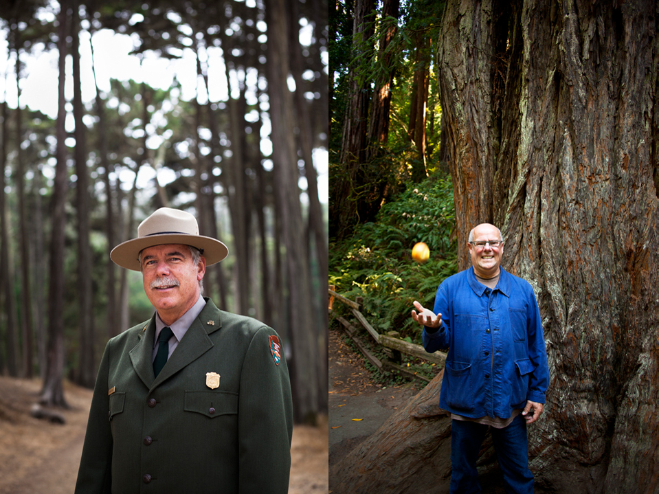 Frank Dean, Golden Gate Superintendent & Larry Bain, food activist and restaurateur