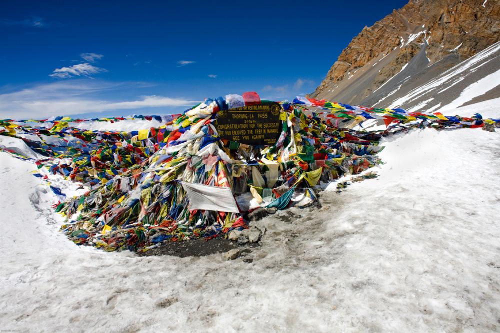 Thorong La Pass, 5416m.