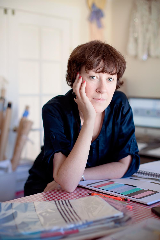 Louisa Parris, Fashion Designer, San Francisco.