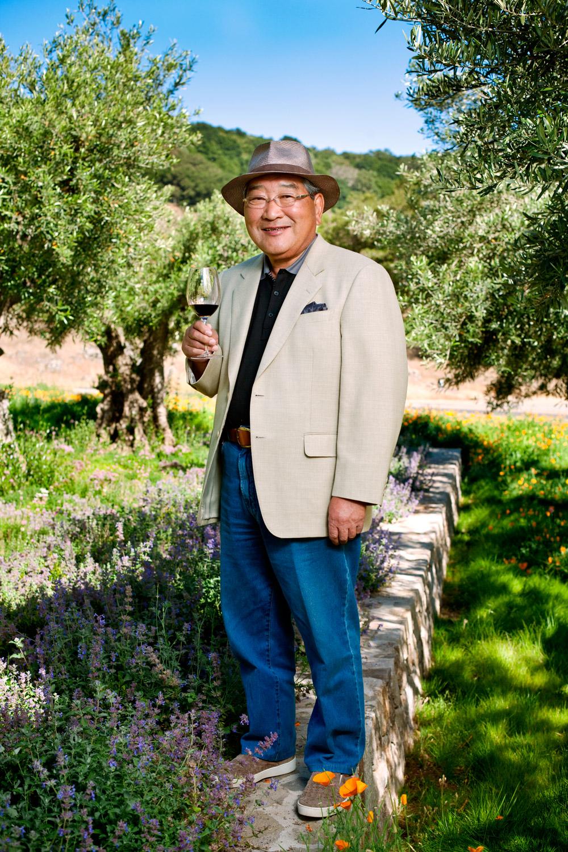 Kenzo Sujimoto Founder of Capcom and Kenzo Winery