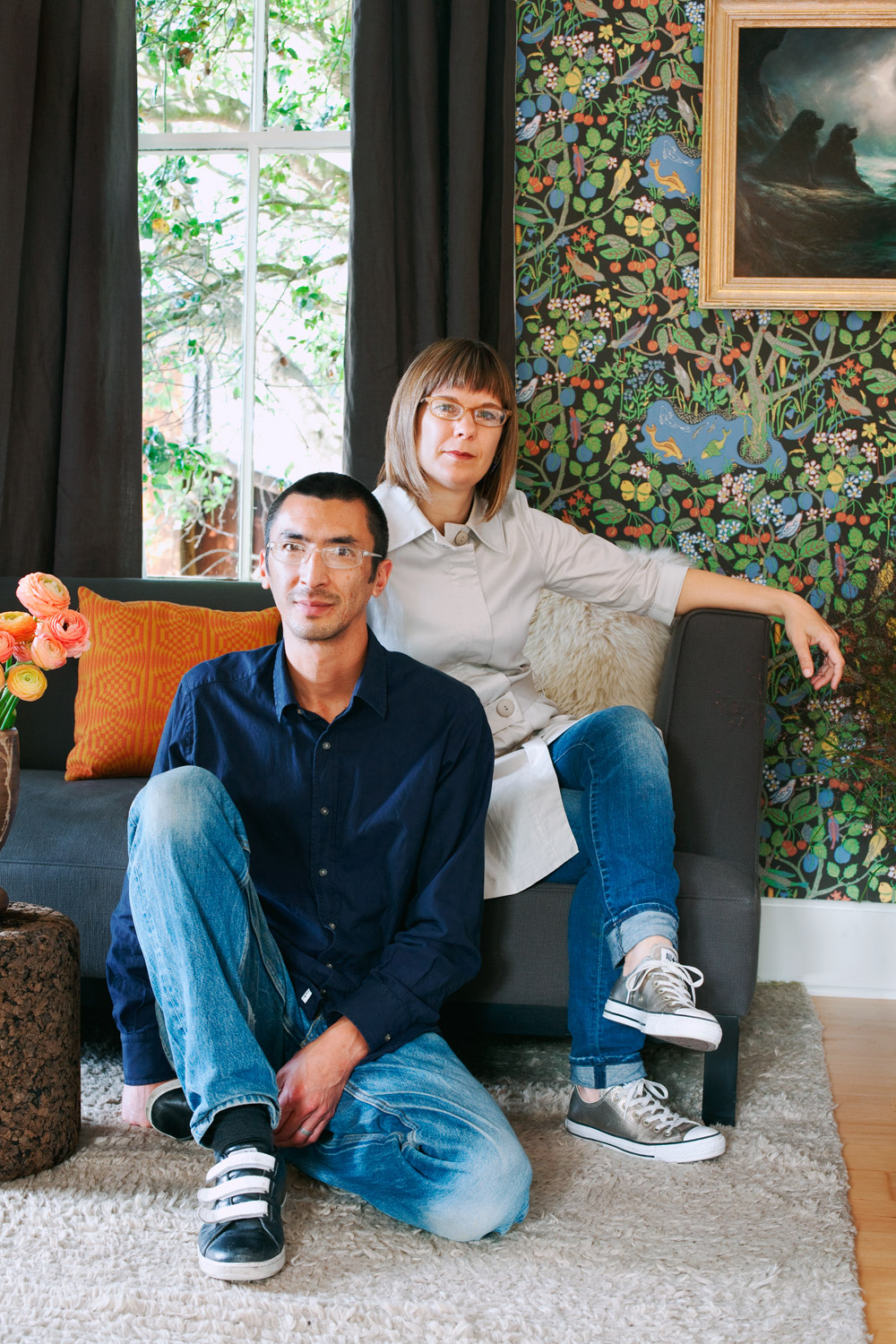 Catherine Bailey and Robin Petravic, Owners, Heath Ceramics, California.