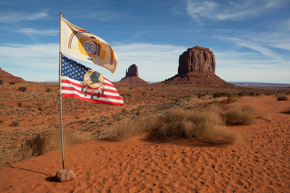 Monument Valley, the sacred heart of the Navajo nation lies in the lower Colorado basin. Both the Navajo and Hopi tribes of the area are locked in one of the longest running cases in Arizona history to determine who has rights to the water of the little Colorado river.