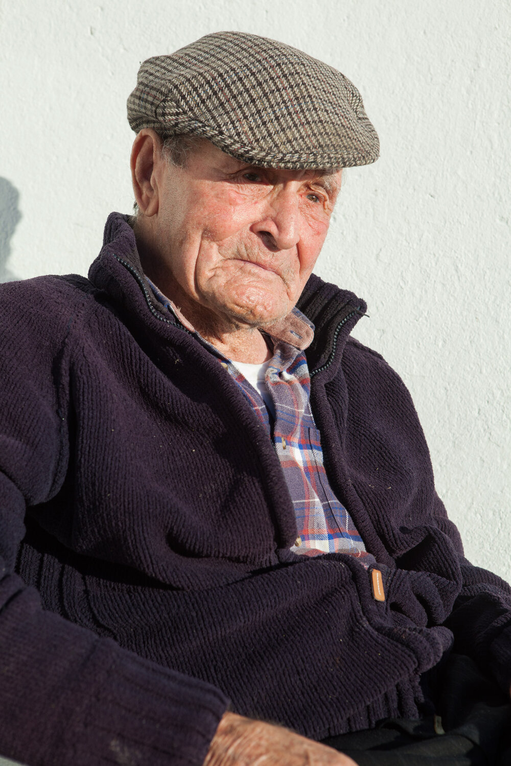 Paddy Faherty, Inishturk's oldest resident will turn 100 in March 2017.
