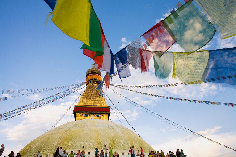 Boudhnath Stupa, Katmandhu, Nepal