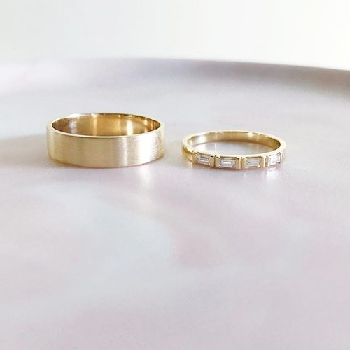 His + Her Wedding Bands — A.M. Thorne