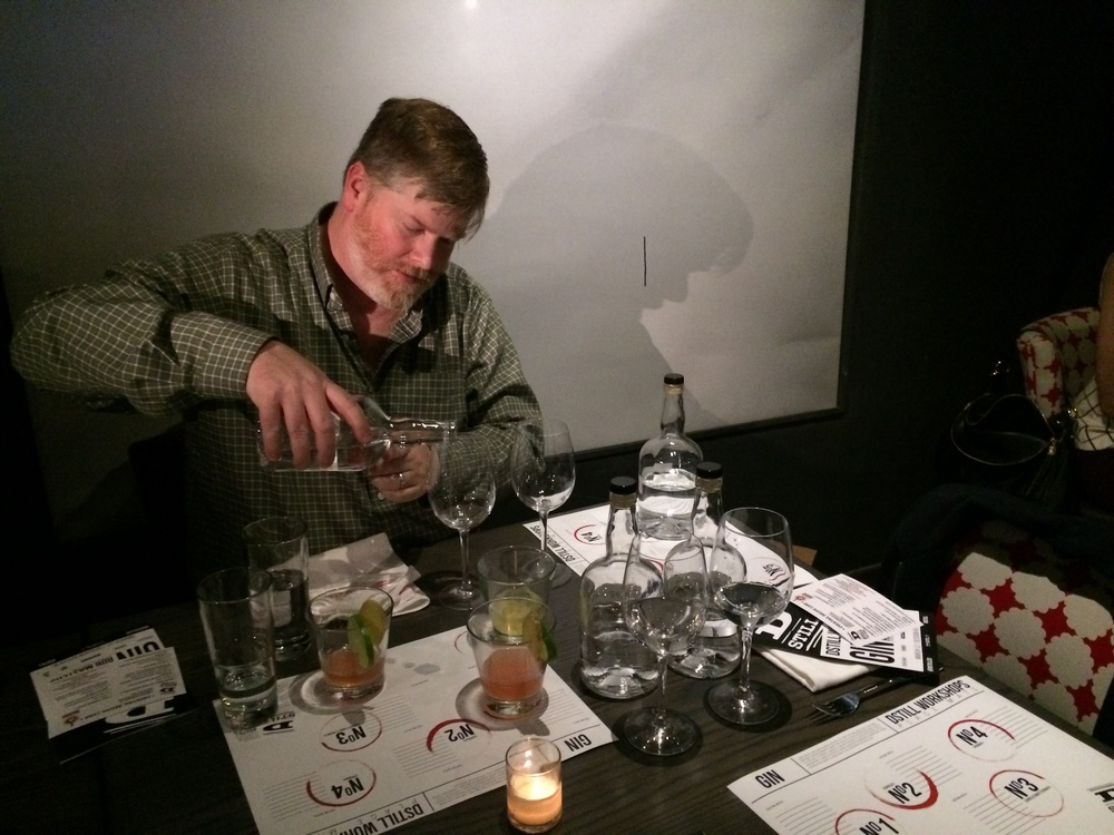 Todd Leopold @ Dstill Gin workshop, March 12th 2014