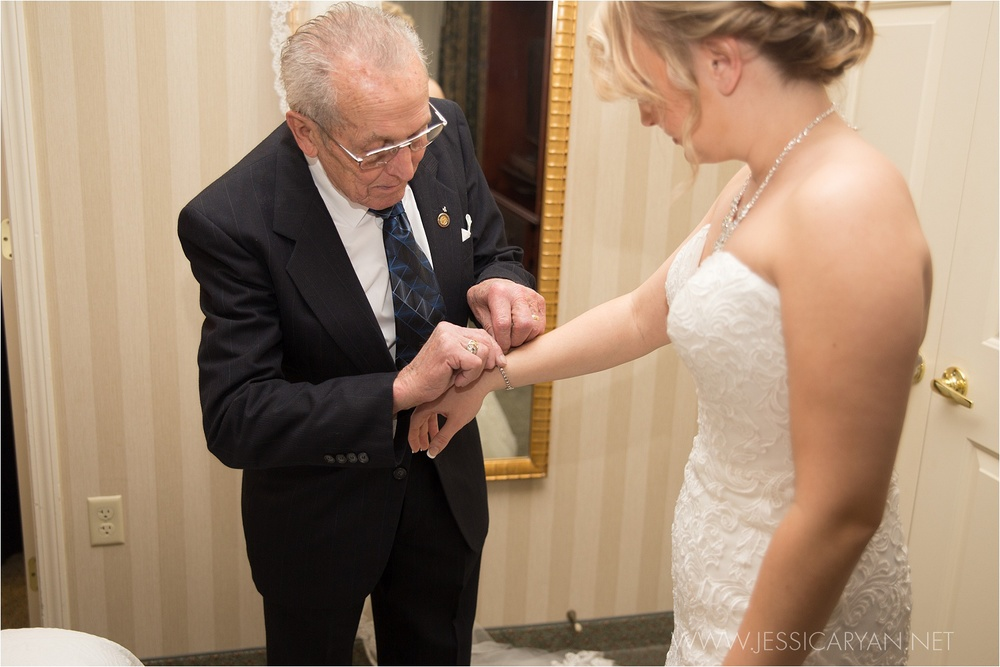 galt house hotel wedding getting ready