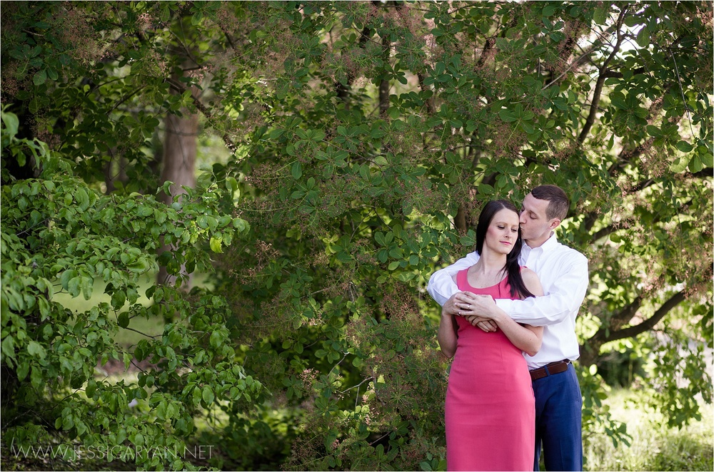 Bernheim Forest engagement session