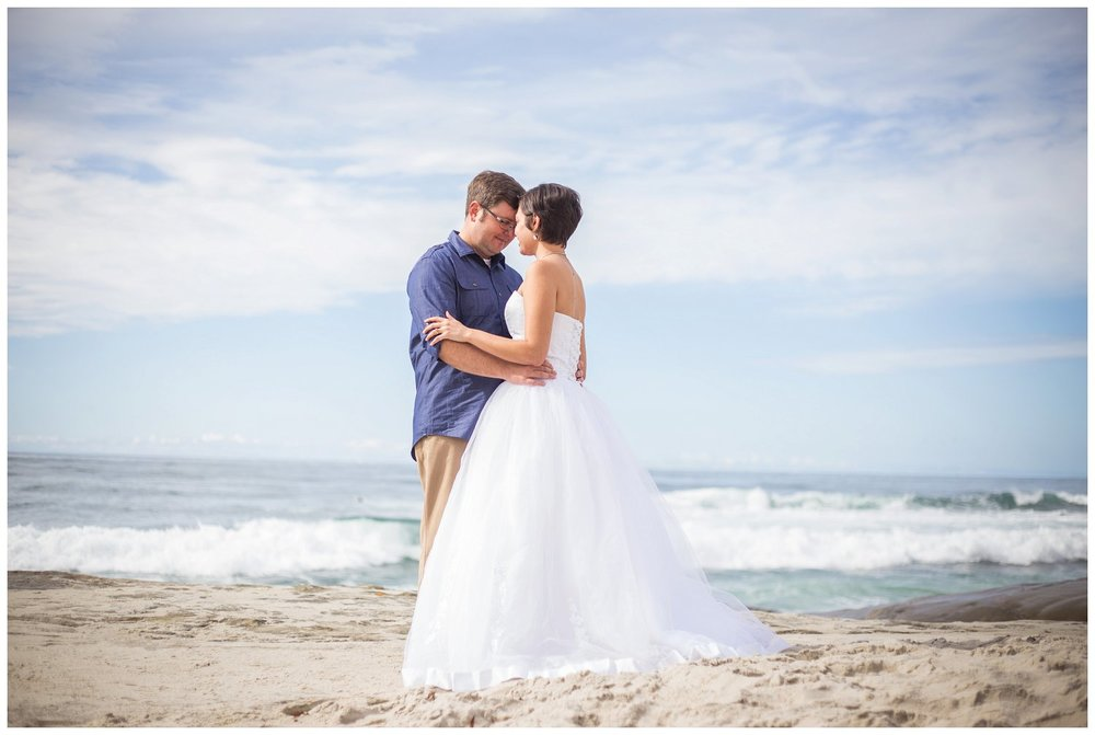 Eric & Kristina Anniversary Session Pacific Beach, CA