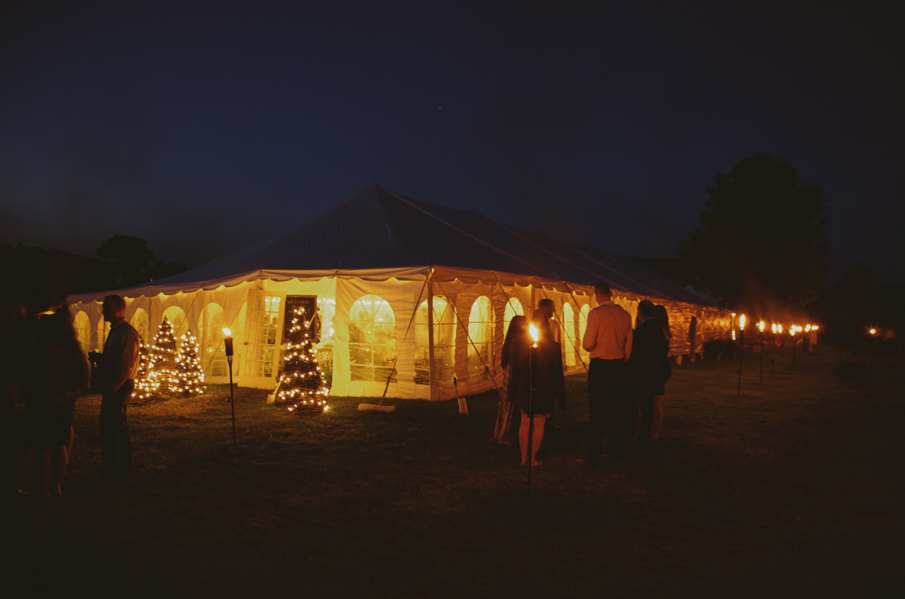 tent wedding ontario